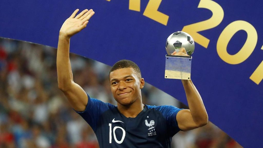 Kylian Mbappe, Remaja Terbaik Piala Dunia 2018
