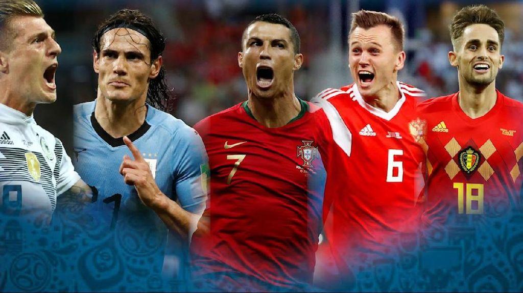 Parade Gol Terbaik Piala Dunia 2018