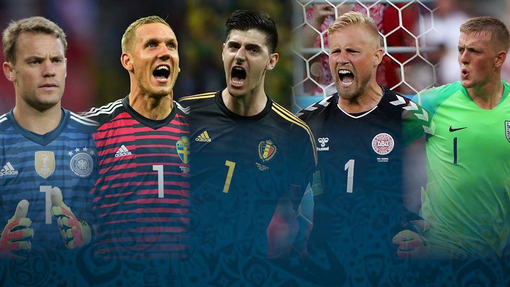 Penyelamatan Terbaik Kiper di Piala Dunia 2018