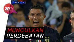 Pantaskah Ronaldo Mendapat Kartu Merah?