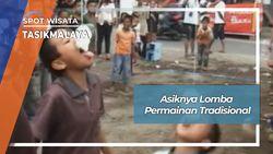 Asiknya Lomba Permainan Tradisional, Tasikmalaya