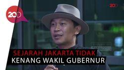 JJ Rizal: Posisi Wagub DKI Seperti Ban Serep