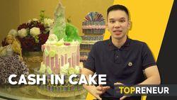 Cantiknya Kue Ulang Tahun yang Dilapisi Uang