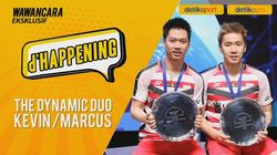 The Dynamic Duo Kevin/Marcus Hadir di dHappening