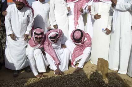 Makam Sederhana Raja Fahd