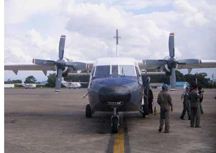 Pesawat AS Cari AdamAir