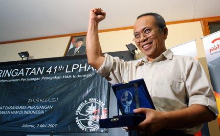 Penghargaan HAM untuk Inu