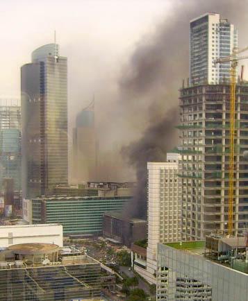 Grand Indonesia Terbakar