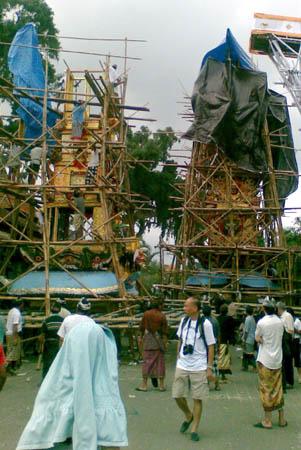 Ngaben di Puri Ubud