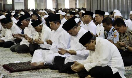 SBY Tablig Akbar di Istiqlal