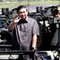 Presiden SBY meninjau panser-panser yang diserahkan ke TNI. Dudi Anung/Setpres.