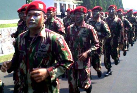 SBY Jadi Warga Kehormatan Kopassus