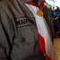 Wahyudi, satu dari 6 personil Kewarcab Gerakan Pramuka Kota Yogyakarta yang ikut mengamankan dan melancarakan arus balik Lebaran di stasiun Lempuyangan, Yogyakarta. (Reza Fitrianto).