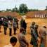 Lomba tembak ini berlangsung di lapangan milik korem 041 Gamas Bengkulu. (Nugroho Tri Putra)