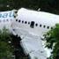 Pesawat Merpati Boeing 737-300 PK MDE ini tergelincir pukul 11.06 waktu setempat. (Any Yollanda).