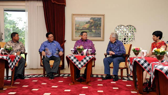 George Soros Bertemu SBY