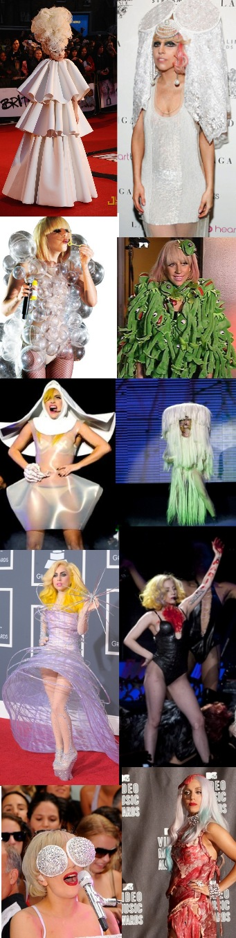 10 Penampilan Terheboh Lady Gaga Sepanjang 2010