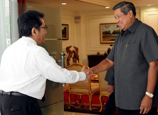 SBY Terima Ketua Konsil Kedokteran Indonesia