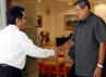 Presiden SBY menyambut kedatangan Ketua Konsil Kedokteran Indonesia (KKI) Menaldi Rasmin beserta beberapa anggotanya. Haryanto/Setpres.
