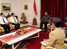 Pertemuan ini membahas kerjasama dan sinergi membangun basis kesehatan masyarakat secara lebih baik. Haryanto/Setpres.