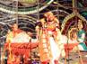 Tarian asal Bali ditampilkan dalam pentas seni di kota Kyoto. (Anggraeni Widiastuti).