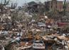 Kerusakan yang disebabkan sapuan tornado. Reuters/Ed Zurga.