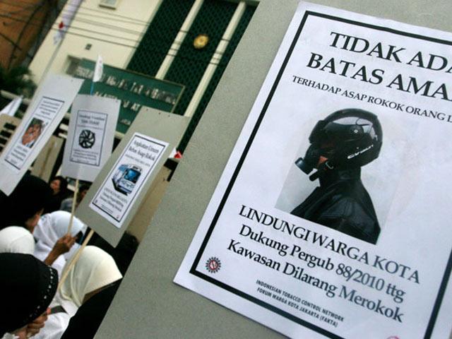 Kelompok Antitembakau Demo PN Jakpus