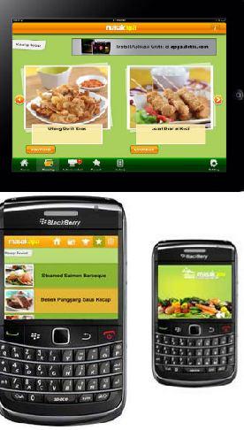 Masak Apa Hadir di Handphone Anda!