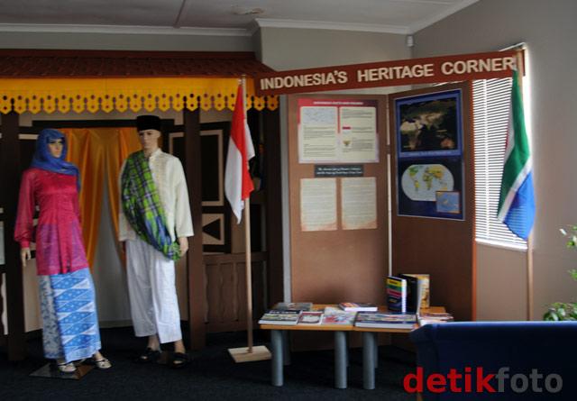 Pojok Warisan Budaya Indonesia di Cape Town