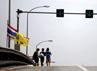 Banjir bandang ini mengakibatkan perekonomian di Thailand terganggu. Reuters/Bazuki Muhammad.