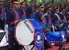 Pengibaran bendera negara ini dilakukan dalam upacara di Pemprov DKI Jakarta, Jl Medan Merdeka Selatan, Jakarta, Rabu (9/11/2011), pukul 10.00 WIB. Suci Dian Firani/detikcom.
