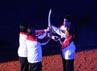 Beberapa mantan atlet Indonesia seperti Alan Budikusuma dan Yayuk Basuki dipercaya untuk membawa obor SEA Games.