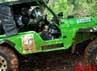 Sebuah Jeep CJ5 milik peserta tuan rumah dengan mudah melahap medan-medan tanjakan.