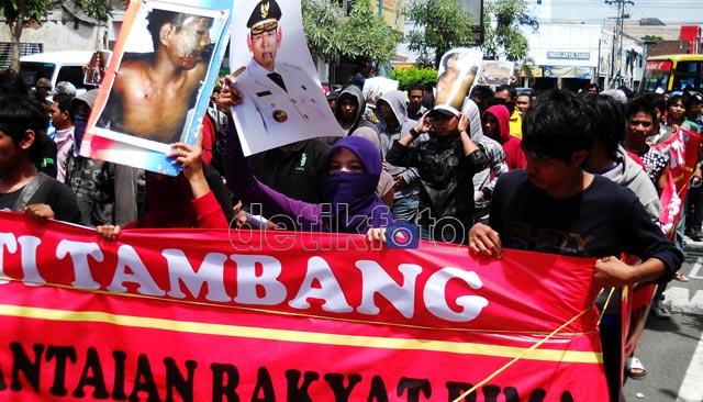 Aksi Solidaritas untuk Korban Penembakan Bima
