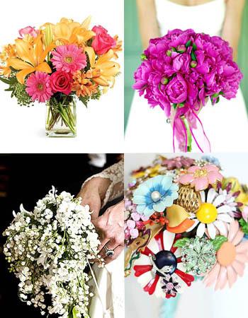 6 tren dekorasi bunga untuk pesta pernikahan di 2012