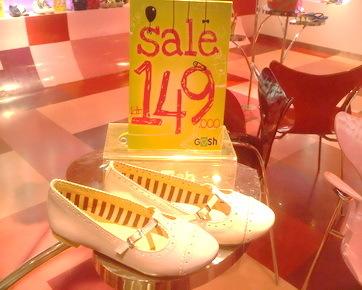 Sepatu Mulai Rp 149 Ribu di Sale Gosh