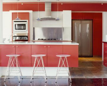 Trik Mengaplikasikan Warna Merah Pada Dekorasi Rumah