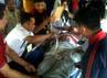 11 korban luka dibawa ke di RS Cideres Majalengka, Jawa Barat. Faiq Resha/detikNews.