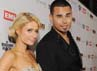 Paris dan Afrojack hadir bersama di After Party Grammy Awards pada 12 Februari lalu. (Getty Images)