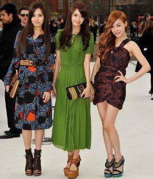 Seohyun, Yoona & Tiffany di London