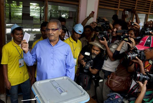Pemilu Timor Leste Berlangsung Damai