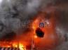 Bangunan permanen pos polisi ludes dilalap api.