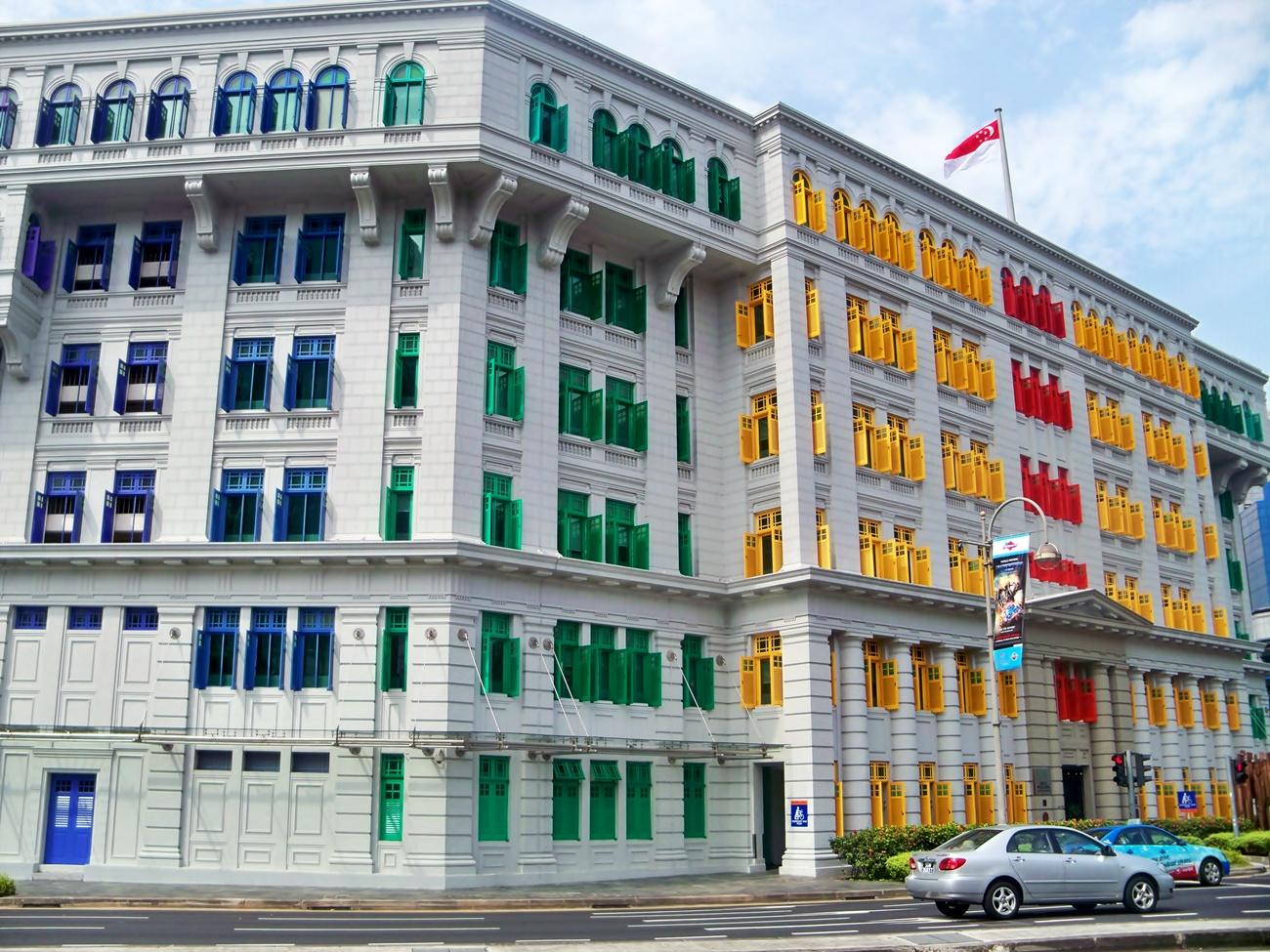 Terpesona Dengan Arsitektur Di Singapura