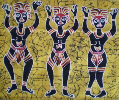 Keren! Papua Juga Punya Batik