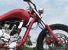 Motor ini telah mengalami perubahan hingga 3 kali perombakan. Street Fighter, Sport dan terakhir Chopper Modern, ujar juragan bengkel modifikasi motor Tauco Custom, Topo Goedel Atmodjo yang mengoprek V-ixion ini jauh dari aslinya.