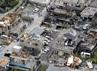 Foto udara menunjukkan sejumlah rumah yang atap dan jendela kacanya hancur akibat diterjang tornado. Reuters/Kyodo.
