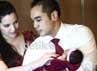 Ardie Bakrie dan Nia Ramadhani menggelar jumpa pers terkait kelahiran putri pertama mereka.