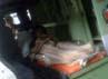 Ada juga dua peserta sakit yang ikut ujian, bahkan salah satunya sampai mengerjakan di ambulans. Oris Riswan Budiana/detikBandung.