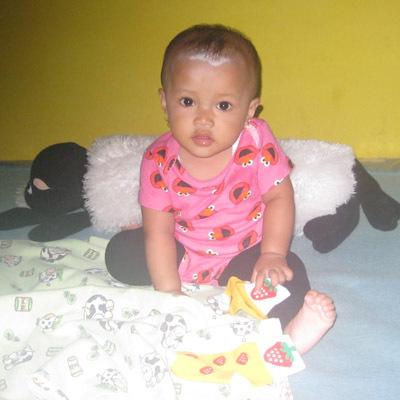 Riska Meilan Utami, 1 Tahun; Perempuan; f