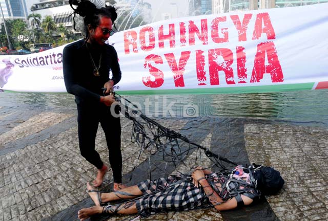 Bantu Syiria dan Rohingya yang Terbelit Konflik